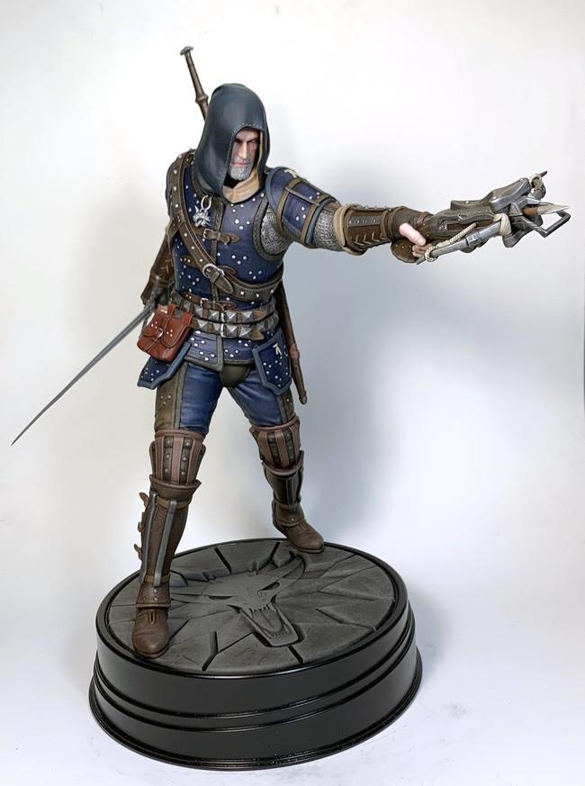 Geralt Statue - NY Toy Fair Reveal