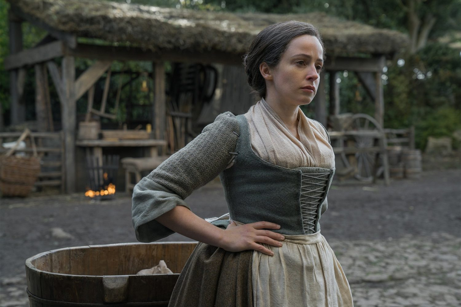 Laura Donnelly in Outlander
