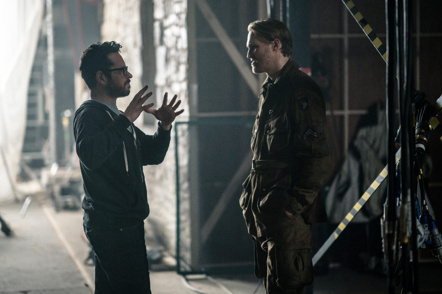 J.J. Abrams On The Set of Overlord