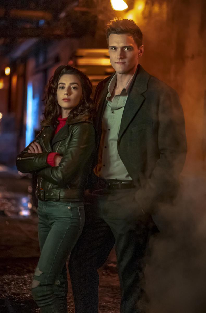 Natalie Dreyfuss & Hartley Sawyer