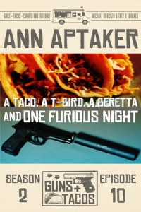 A Taco, A T-Bird, A Beretta and One Furious Night by Ann Aptaker