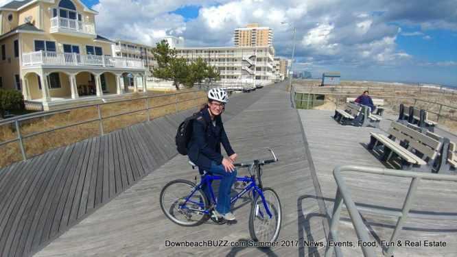 Ventnor Boardwalk Biking