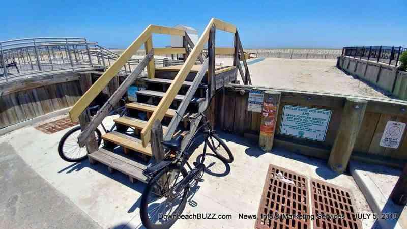 Need for Beach Bike Racks