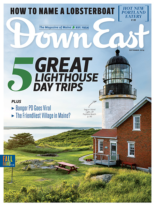 down east september 2014 cover