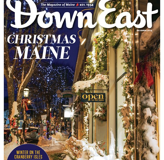 Down East December 2014 Cover
