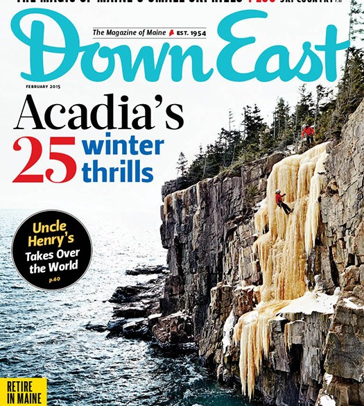 Down East February 2015 Cover