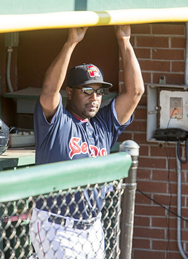 Sea Dogs manager Billy McMillon. Photo courtesy of the Portland Sea Dogs.