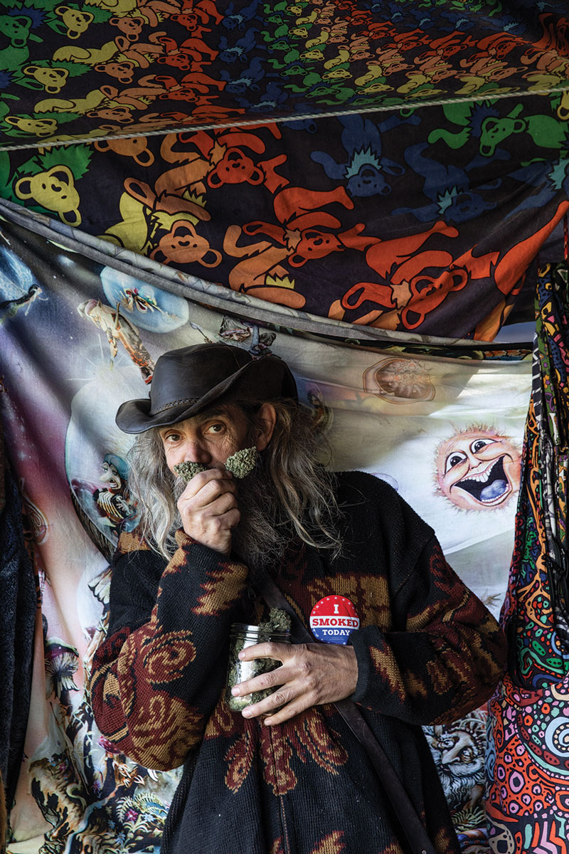 Dougie, longtime festival attendee and vendor