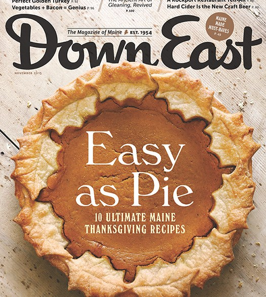Down East November 2015 Cover