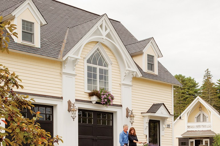 Boothbay Harbor Gothic home