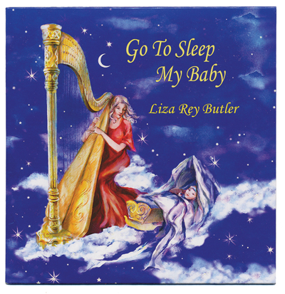 Harpist Liza Rey Butler's new collection of lullabies