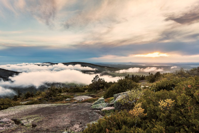 Cadillac Mountain, Acadia National Park, Down East Magazine, Maine