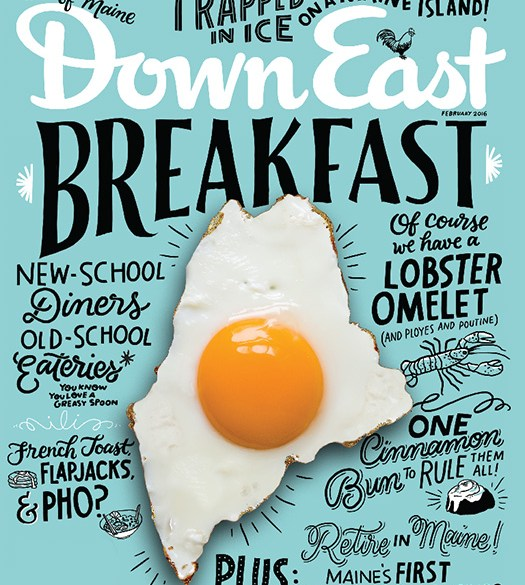 Down East February 2016 Cover