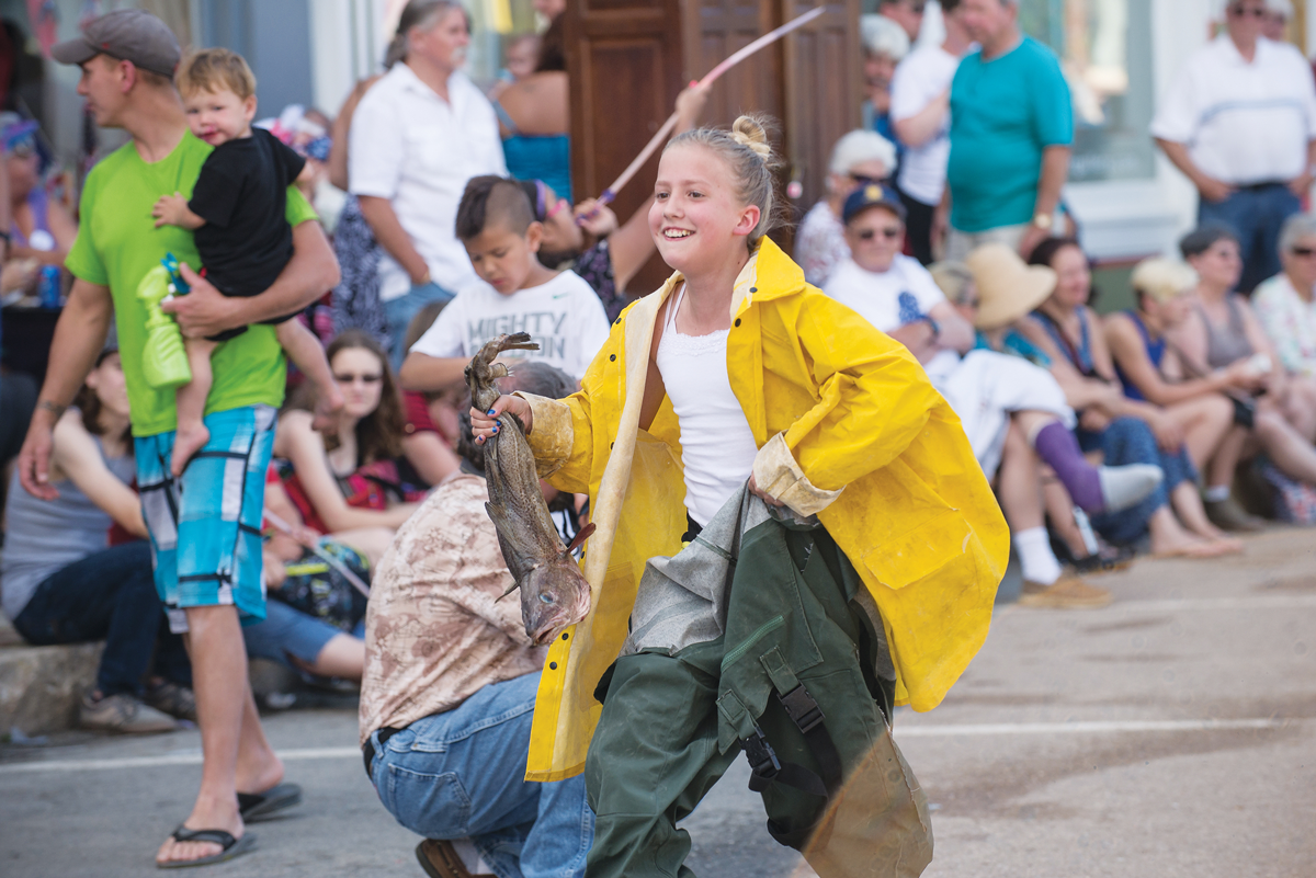 Codfish racing at Eastport 4th of July Festival (July 1–5)