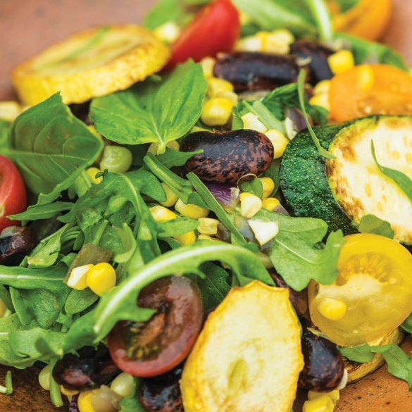 Summer Succotash with Soft Herbs
