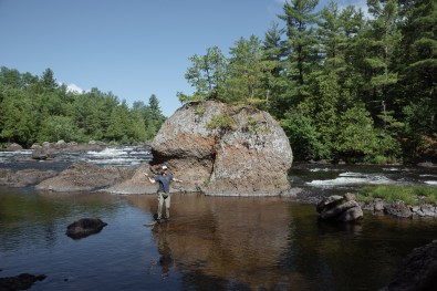 Haskell Rock on the East Branch