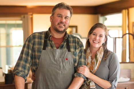 Jonathan and Natalie Spak met while working together in a restaurant kitchen; they took over the Oxford House in 2007.