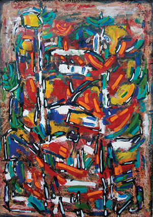 Accent of Autumn - David Driskell