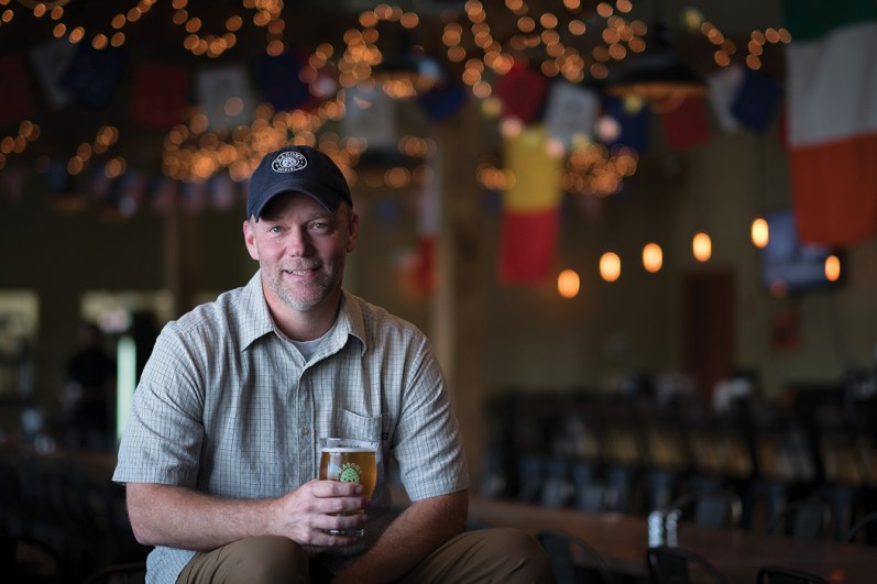 Owner Chris Moreley - Mason's Brewing Company