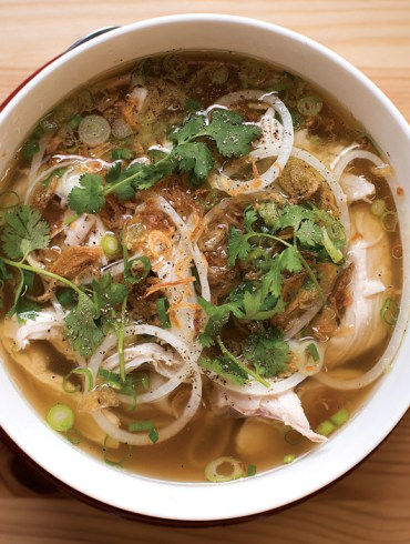 Cong Tu Bot, Portland, Maine - An aromatic bowl of chicken pho.