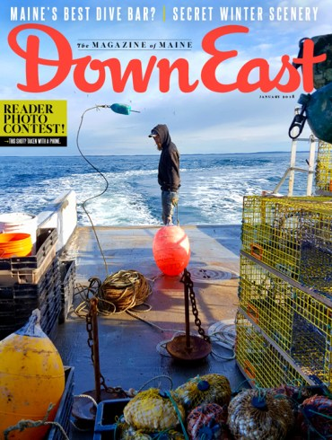 Down East Magazine January 2018 Cover