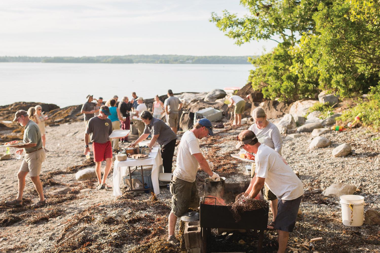 Maine beach lobster bake recipe
