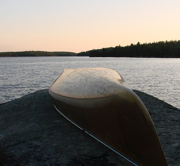 canoe tripping up north