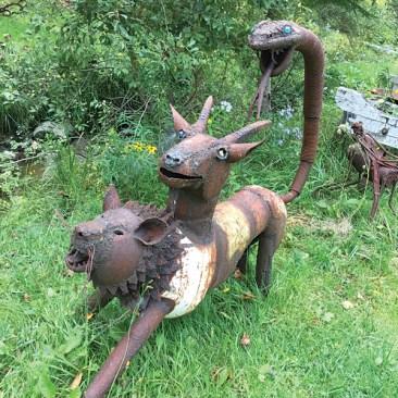 Lion-goat-snake by Nathan Nicholls