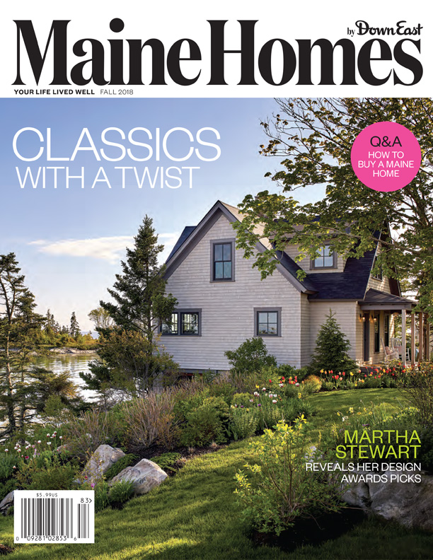 Maine Homes by Down East Magazine Cover