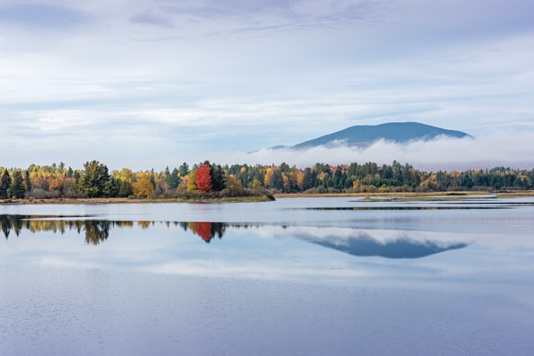 Flagstaff Lake, Where in Maine October 2018