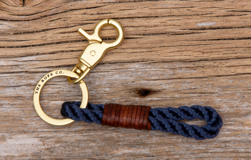 Maine made, The Rope Co Keychain