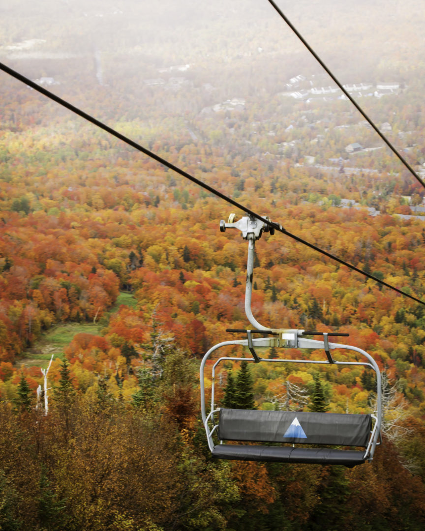 Autumn Sugarloaf Chairlift Ride