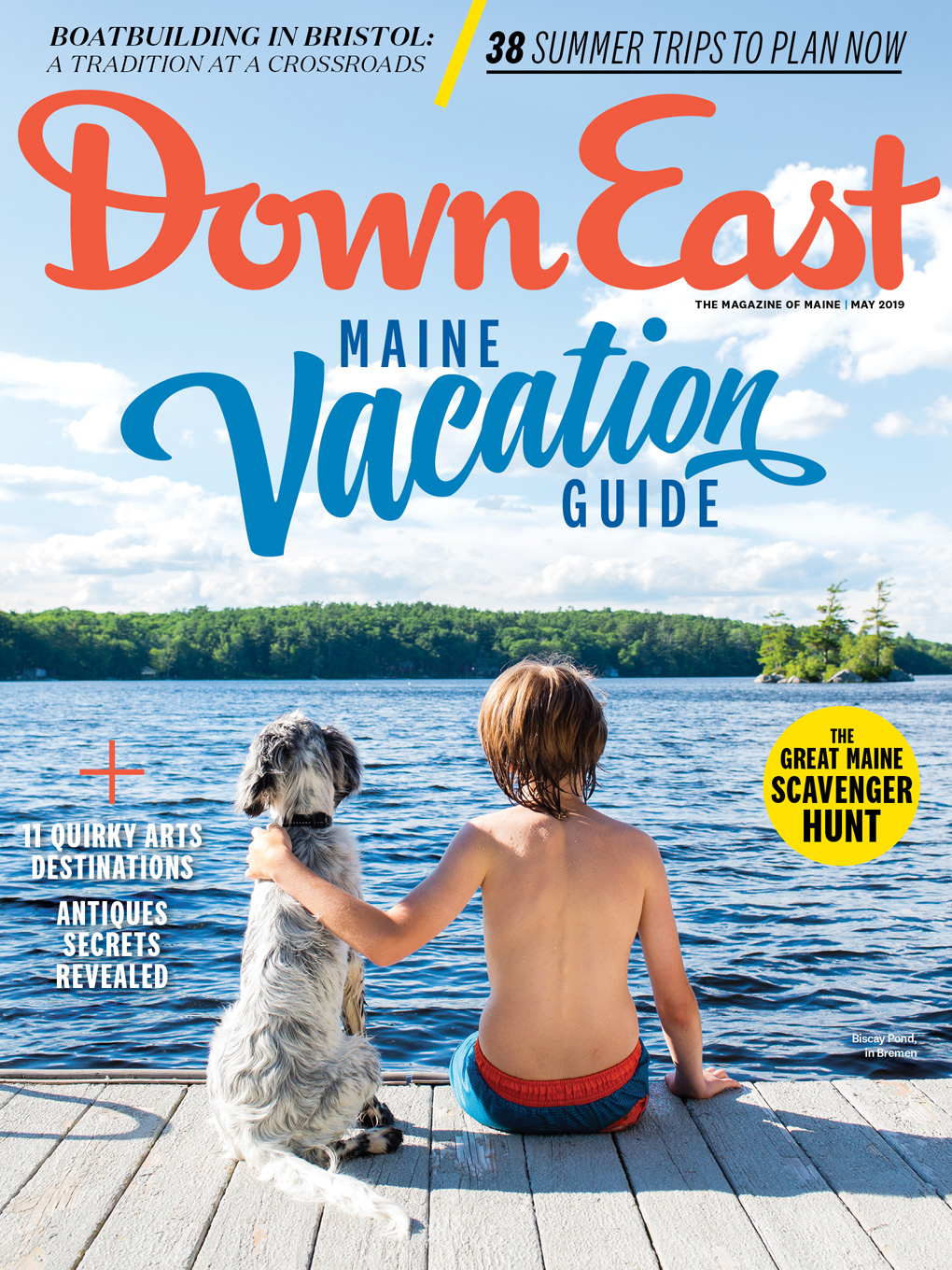 Down East magazine, May 2019