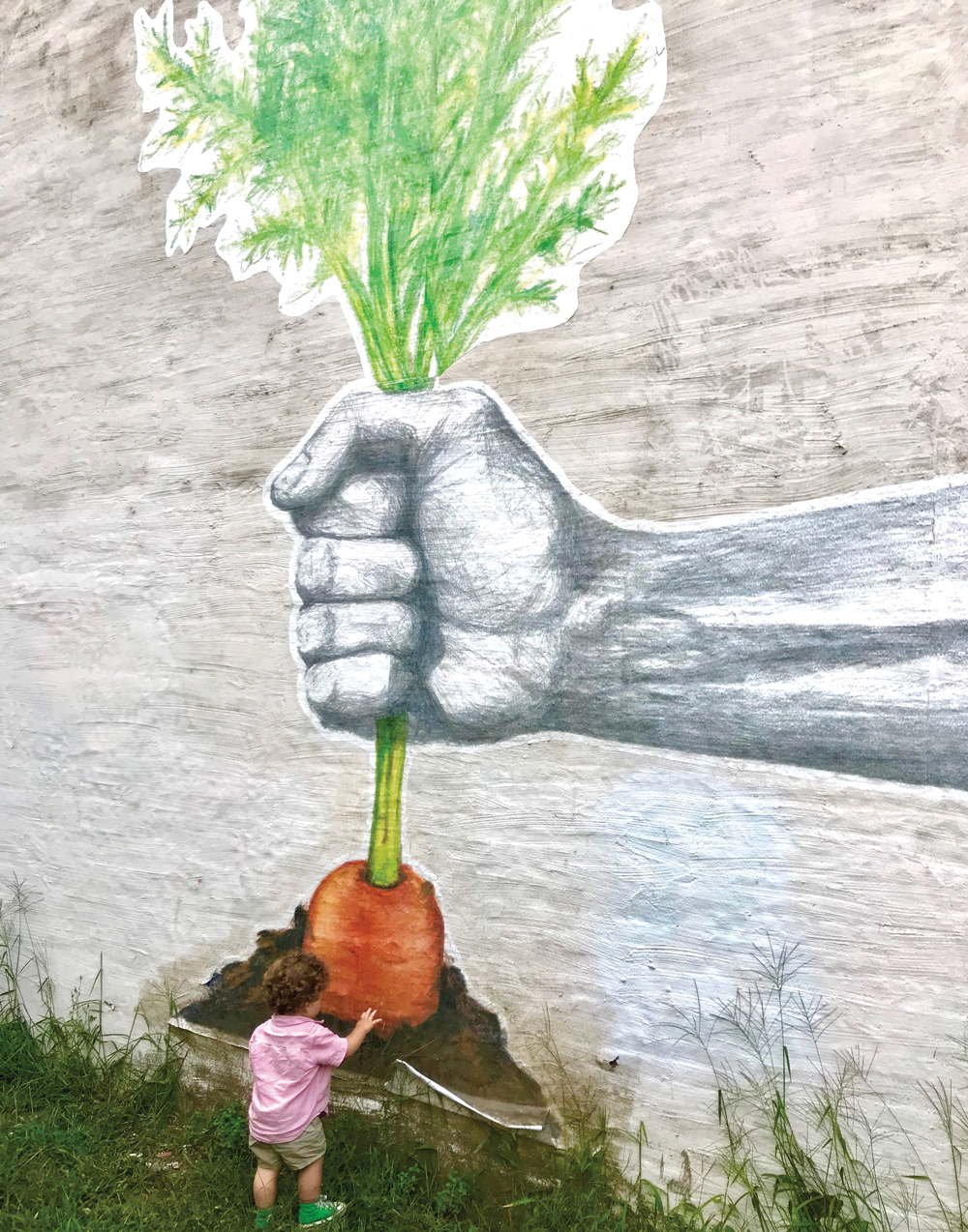 Wheatpaste Mural Project, Bangor, Maine