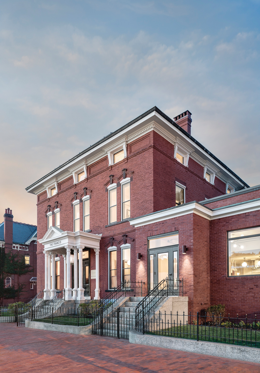 The Francis historic lodging