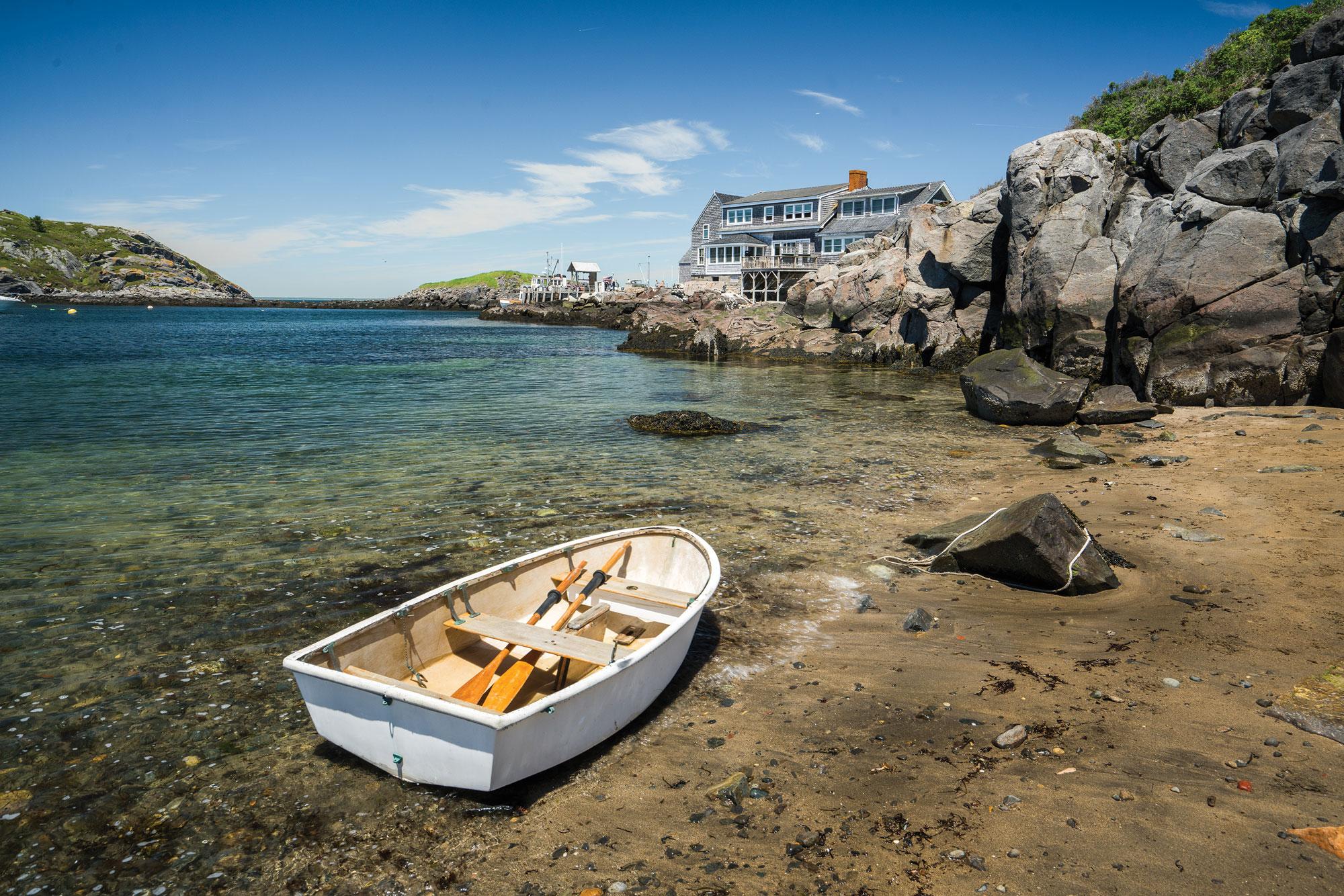 Swim Beach, Monhegan, Maine