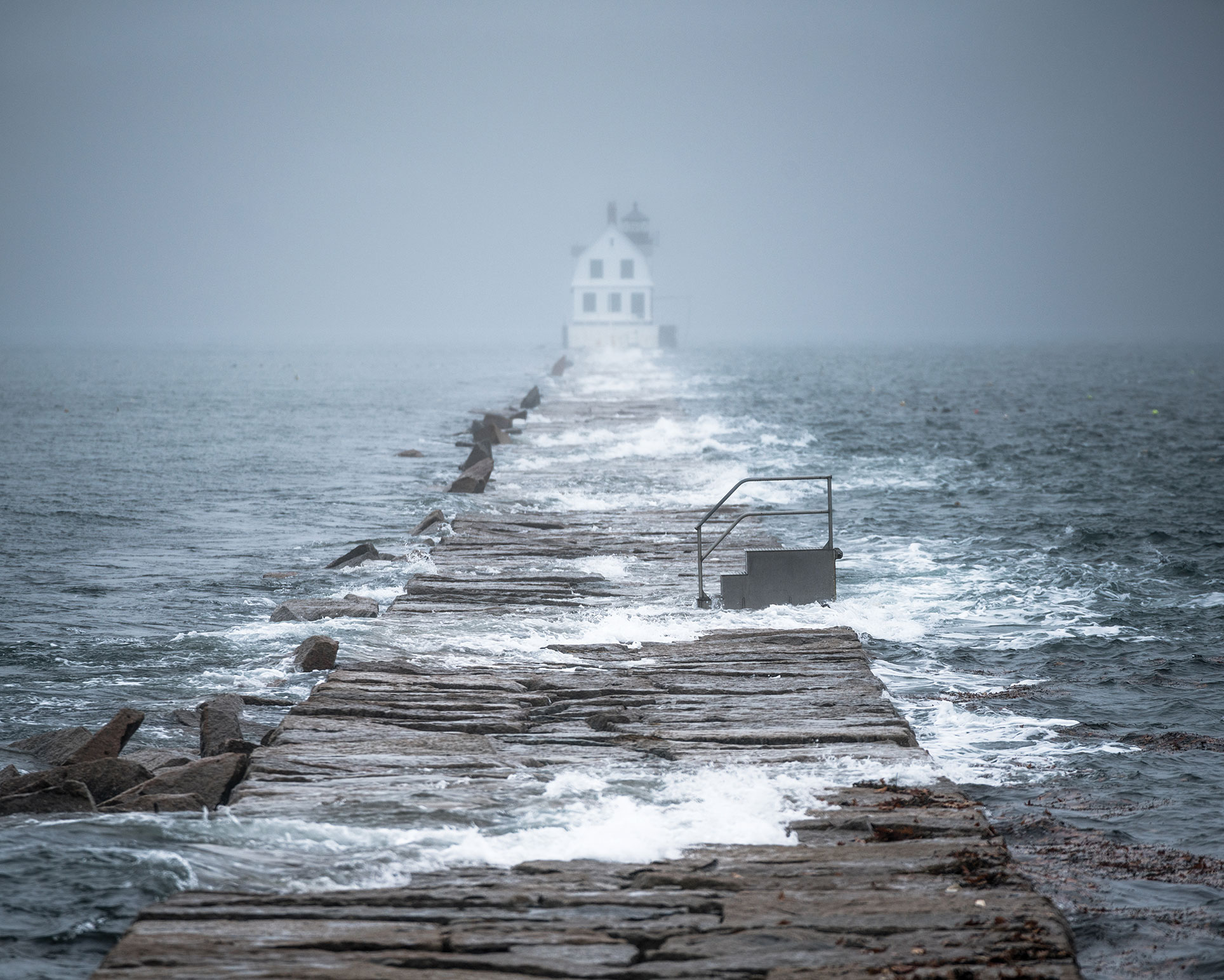 Rockland Harbor Breakwater Light