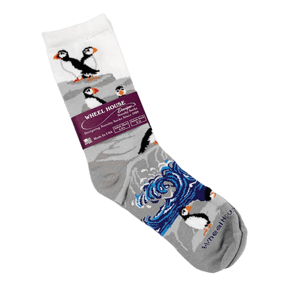 Puffin Novelty Socks