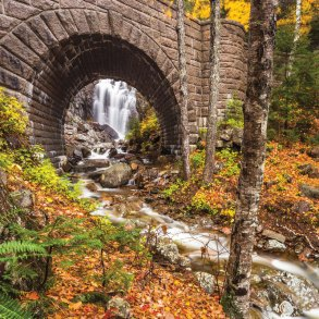 Hadlock Falls, Where in Maine October 2019