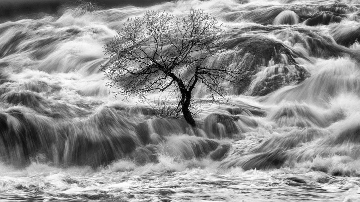 Androscoggin River, Lisbon Falls; Nikon D850, 28–300mm