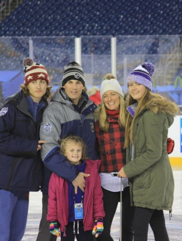 Wes McCauley and family