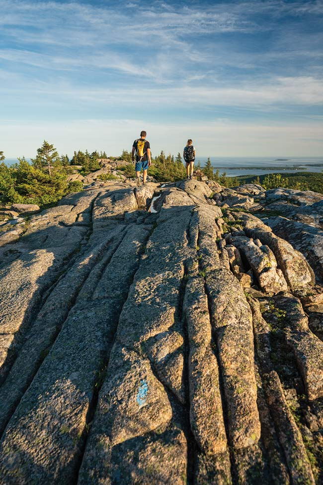 4 Trails to the Top of Acadia's Cadillac Mountain