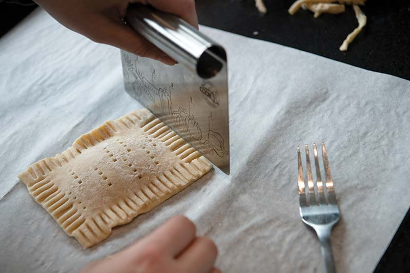 House-made pop tarts at Thompson's Point