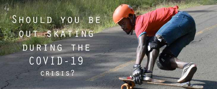 downhill skateboarding covid-19