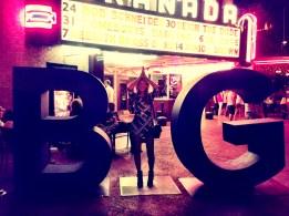 Living BIG in Dallas outside the Granada Theater