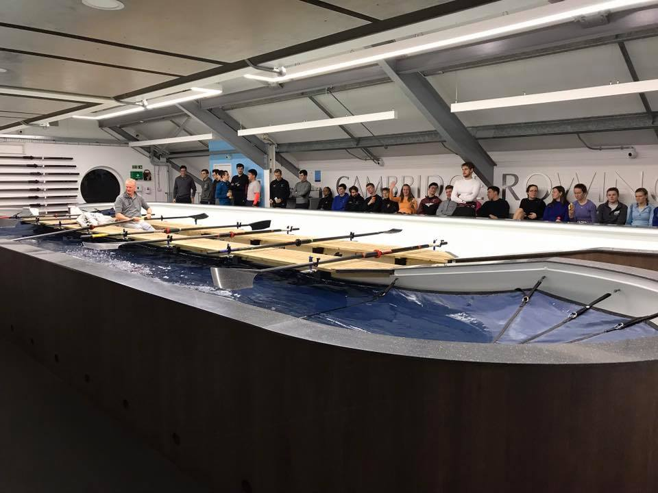 The Cambridge Rowing Tank