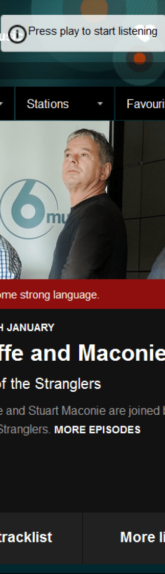 BBC 6 Music Radcliffe and Maconie