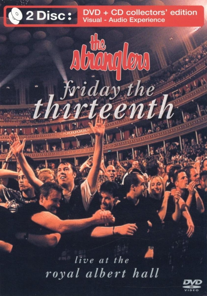 "Poster for the movie ""The Stranglers: Friday The Thirteenth - Live at the Albert Hall"""