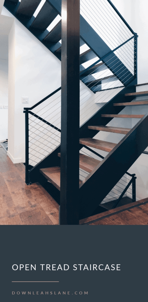 Here S What No One Tells You About Open Stairs Down Leah S Lane | Steel Stairs With Wood Treads | Wooden Stair | Glass | Exterior | Pine Wood Tread | Typical