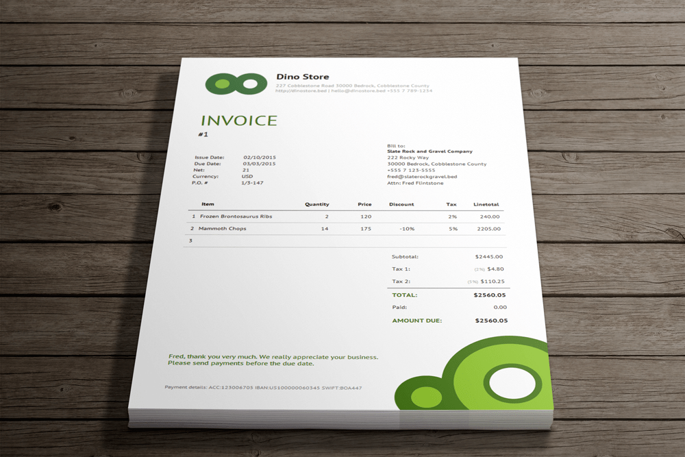 Simple online invoicing   Invoicebus   Accounting Software     Simple online invoicing   Invoicebus Screenshot 11